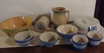 GROUPING OF STONEWARE