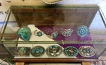 SAMPLE OF TURQUOISE & SILVER BRACELETS & BUCKLES